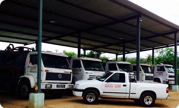 Caminhão Limpa Fossa Pará de Minas