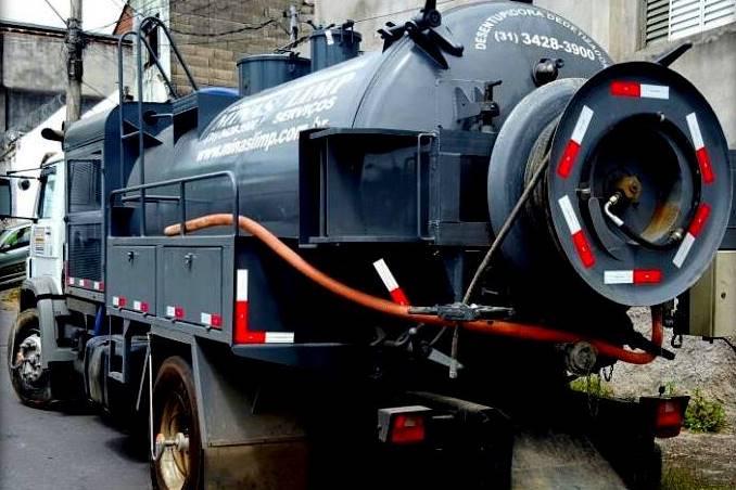 Caminhão Hidrojateamento Minas Limp