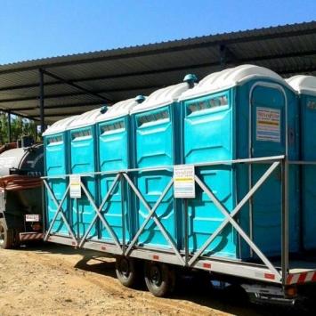 Transporte de Banheiros Químicos Minas Limp