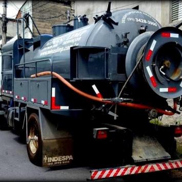 Caminhão de Hidrojato Minas Limp